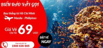 Cực đã trong thiên đường biển đảo Philippines, với vé máy bay chỉ từ 69 USD từ Air Asia
