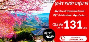 Bay muôn nơi trải nghiệm giây phút diệu kì cùng Air Asia với vé máy bay giá rẻ chỉ từ 131 USD