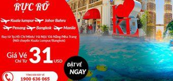 Chào hè rực rỡ với giá rẻ bất ngờ từ Air Asia bay khắp Châu Á