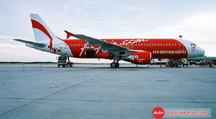 Sân bay là điểm dừng quan trọng của hãng hàng không Air Asia