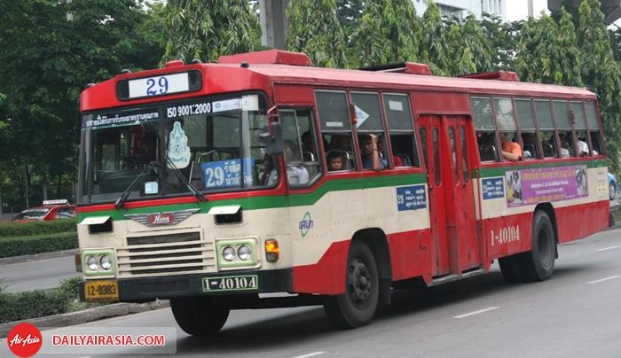 Để đi BTS, bạn phải đi bus 29
