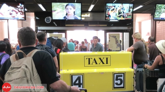 Metro taxi ở Don Mueang