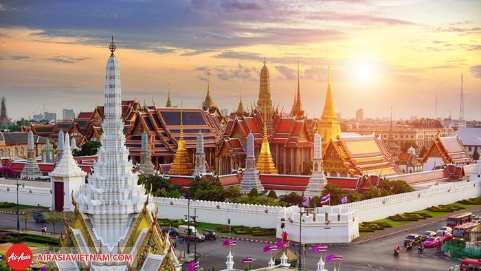 1 góc thủ đô Bangkok