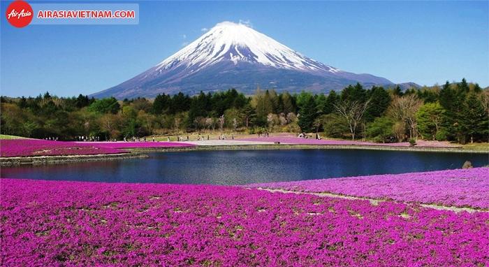 Một phần công viên Quốc gia Phú Sĩ - Hakone-Izu.