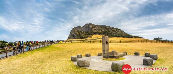 Quang cảnh Núi Seongsang IIchulbong