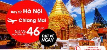 Thỏa sức vi vu Hà Nội – Chiang Mai chỉ với 46 USD