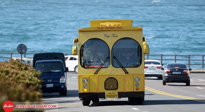 xe bus độc đáo ở Jeju