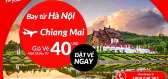 Bay thả ga cùng Air Asia với vé máy bay chỉ từ 40 USD