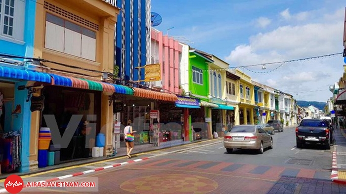 phố cổ Phuket rực rỡ sắc màu