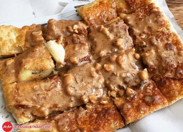 Bánh pancake Thái Roti