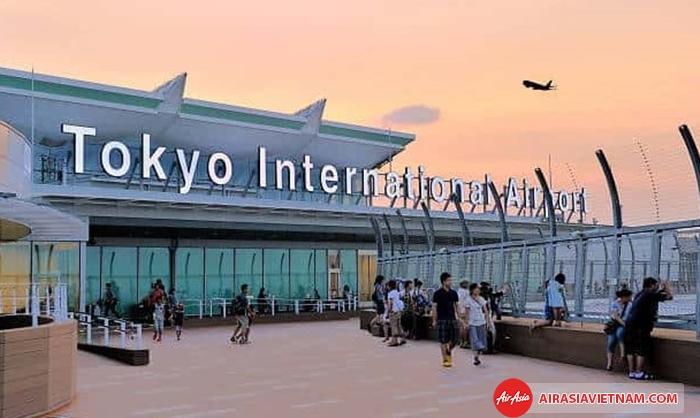 đi máy bay là cách an toàn và dễ dàng nhất để đến Tokyo