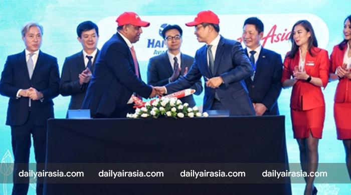 Lễ kí kết giữa CEO Air Asia và tập đoàn TMG