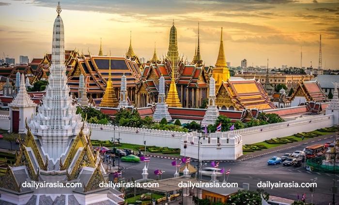 Bangkok, Thái Lan có rất nhiều địa điểm đẹp