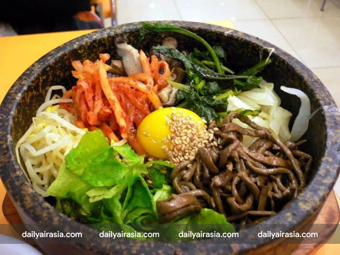 Cơm trộn - đặc sản Hàn Quốc