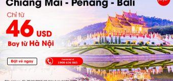 Đón chào năm mới tại Thái Lan với giá vé chỉ từ 46 USD