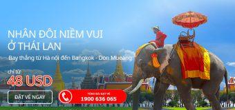 Thỏa sức khám phá Thái Lan cùng Air Asia chỉ từ 48 USD