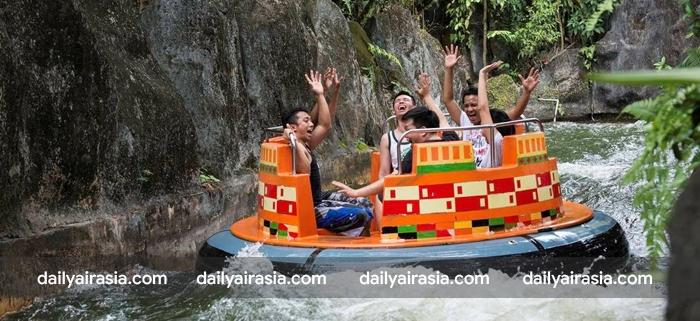 Đến với Công viên giải trí Sunway Lagoon bạn sẽ thoải mái tham gia các trò chơi mạo hiểm