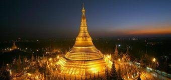 Ngắm nhìn kiến trúc linh thiêng cùa chùa Shwedagon ở Yagon