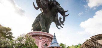 Khám phá bảo tàng tượng voi 3 đầu khổng lồ tại Thái Lan