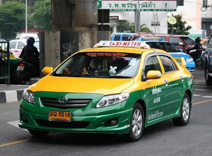 Kinh nghiệm đi Taxi trên đảo Phuket