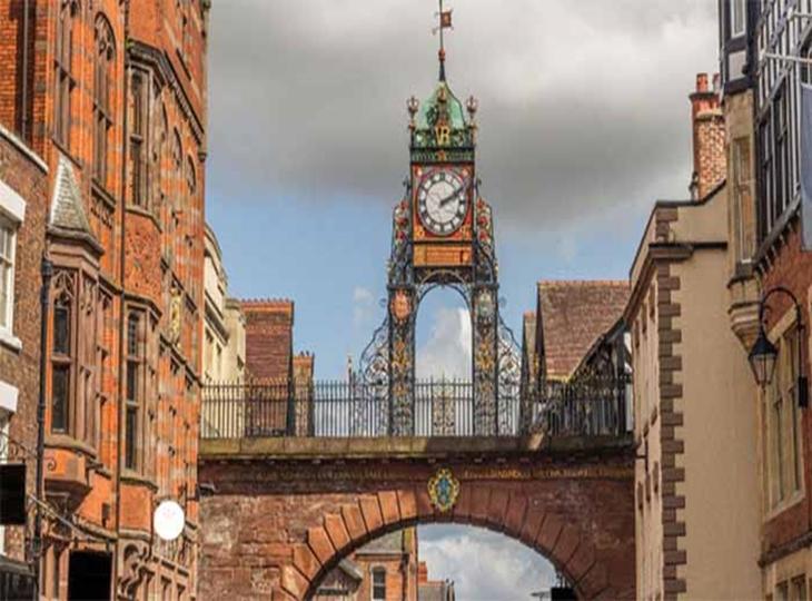 Thăm quan thành phố cổ Chester, Anh quốc